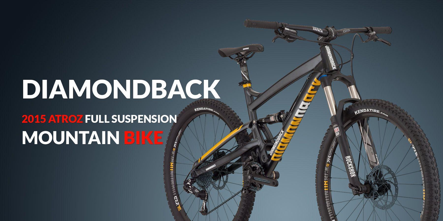 Diamondback Bicycles 2015 Atroz Full Suspension Mountain