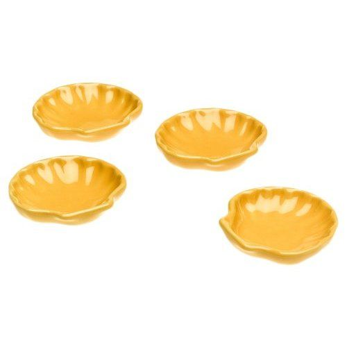 Amazon.com: Emile Henry Miniature Shell Dishes, Set Of 4, Citron Yellow Amazing Pictures