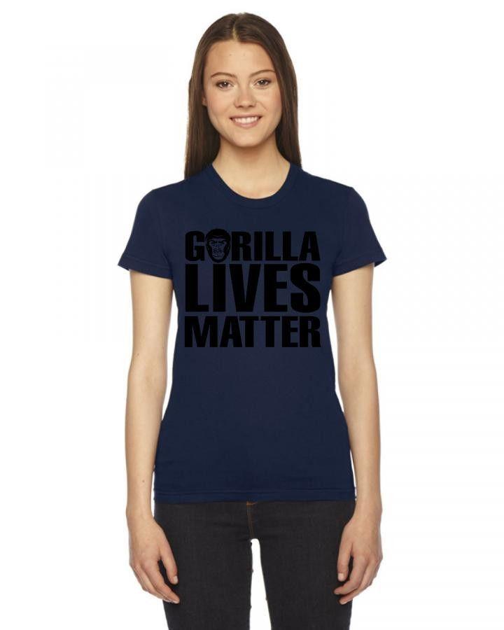Gorilla Lives Matter Women's Tee
