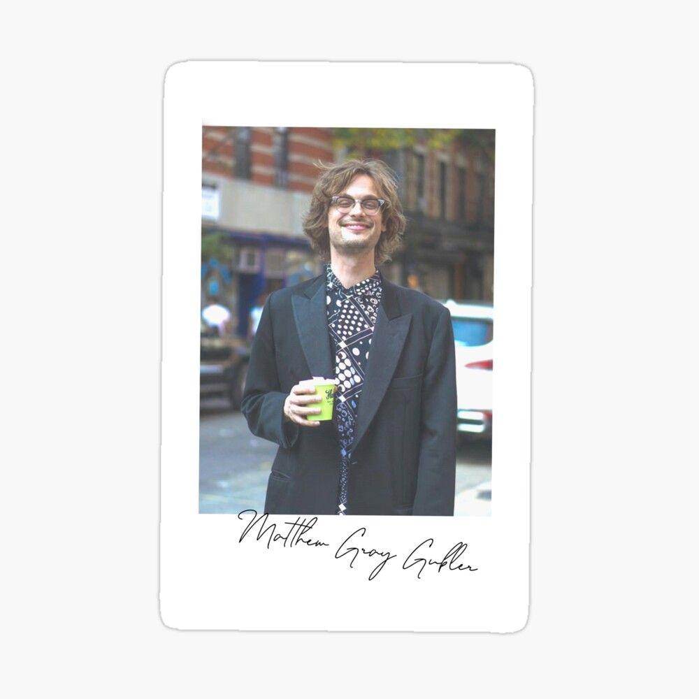 Matthew Gray Gubler Polaroids