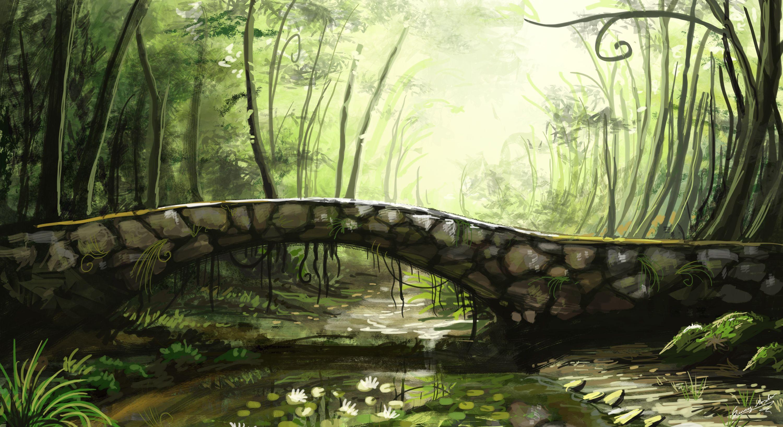 fantasy landschaften wald - Google-Suche | Fantasy World ...