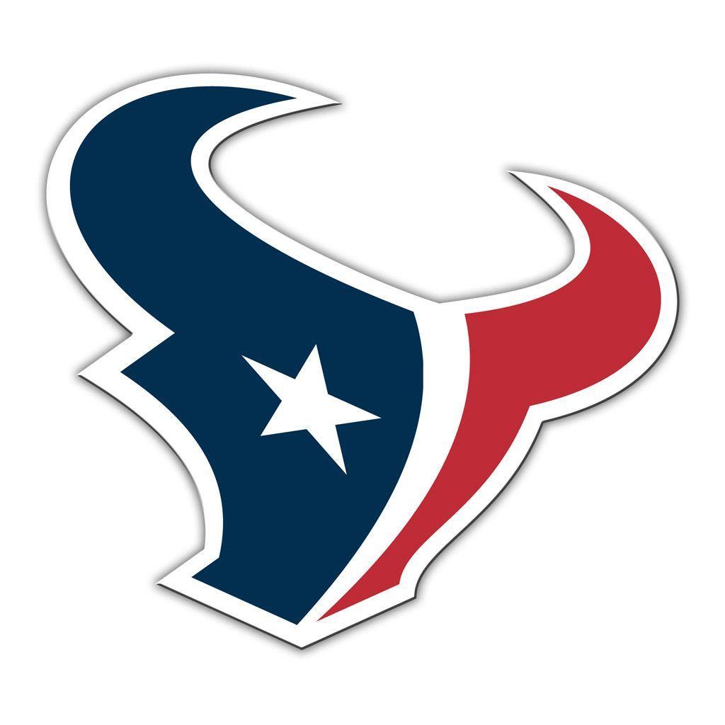 Houston Texans Vinyl Mascot Magnet With Images Nfl Houston