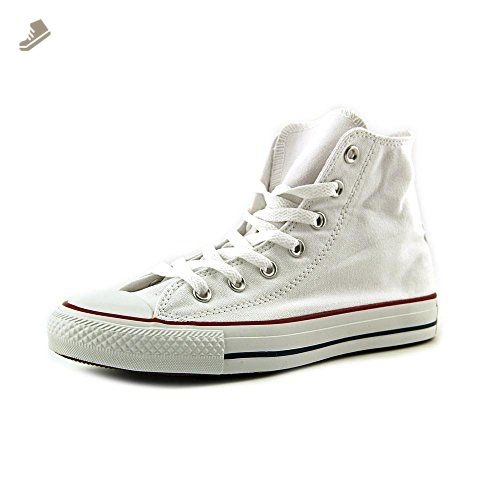 e7af3537c8b6 Converse Unisex Chuck Taylor All Star High Top Optical White Sneakers - 7.5  B(M) US Women   5.5 D(M) US Men - Converse chucks for women ( Amazon ...