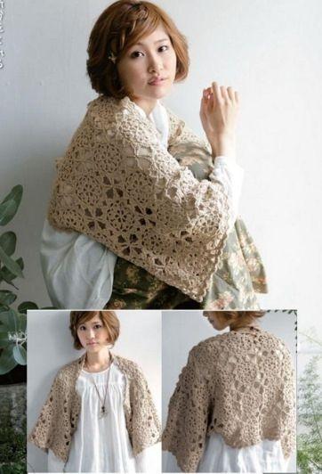 ange 12 004 362x532 116kb crochet boleros tricot y ange. Black Bedroom Furniture Sets. Home Design Ideas