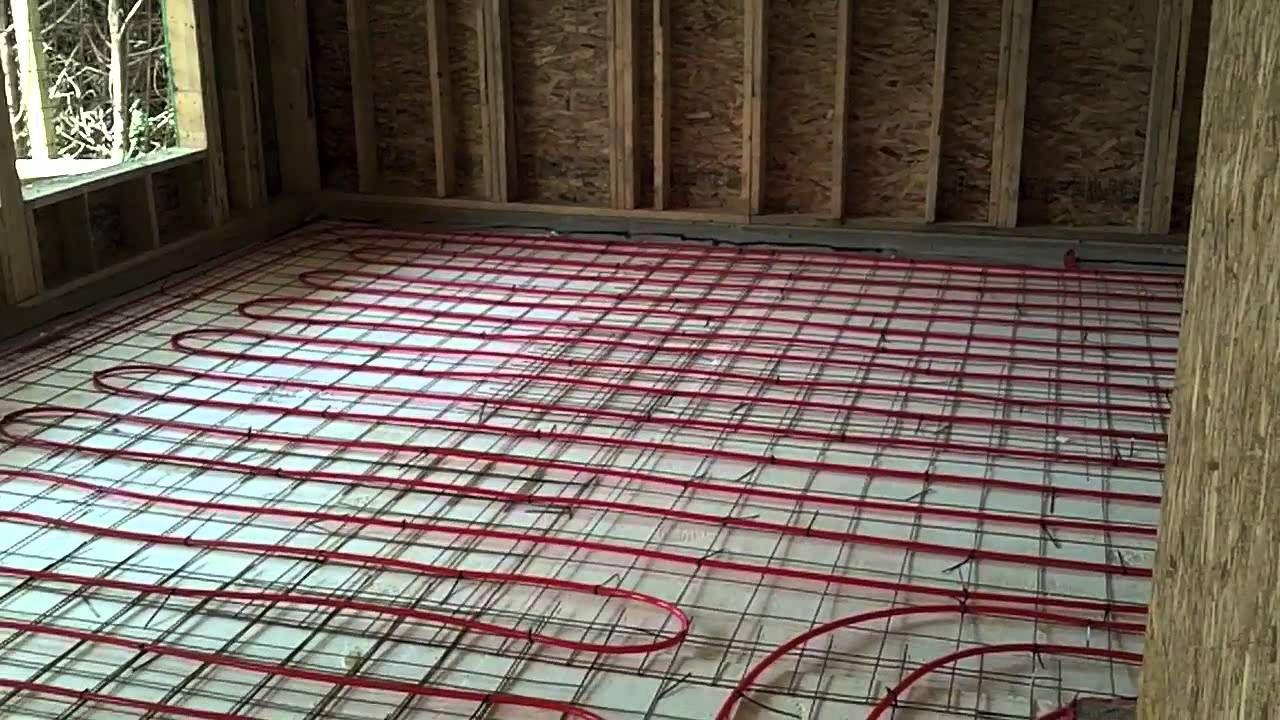 How To Install Radiant Floor Heating Under Tile Flooring