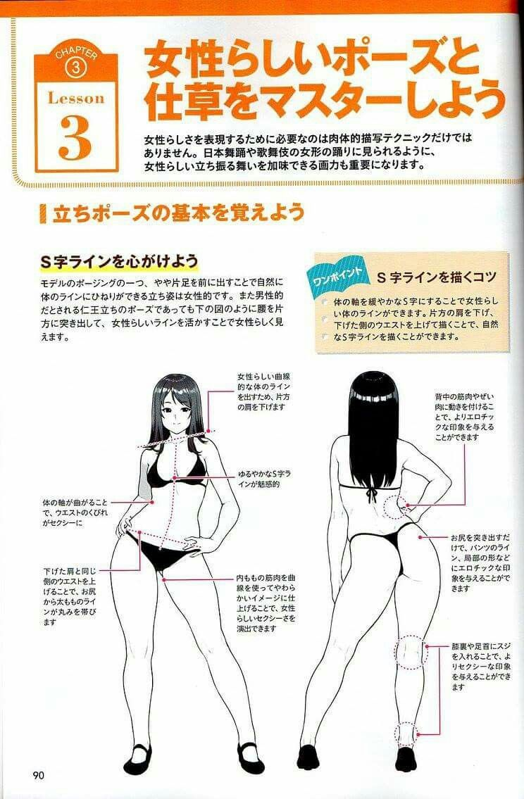 Anime sexy to girls draw How