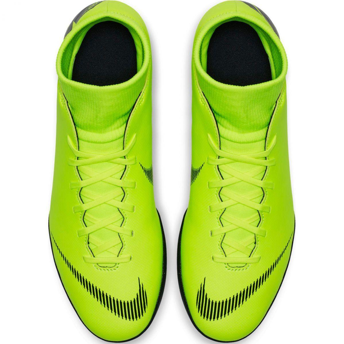 Buty Pilkarskie Nike Mercurial Superfly 6 Club Tf M Ah7372 701 Wielokolorowe Zielone Football Shoes Mens Football Boots Nike