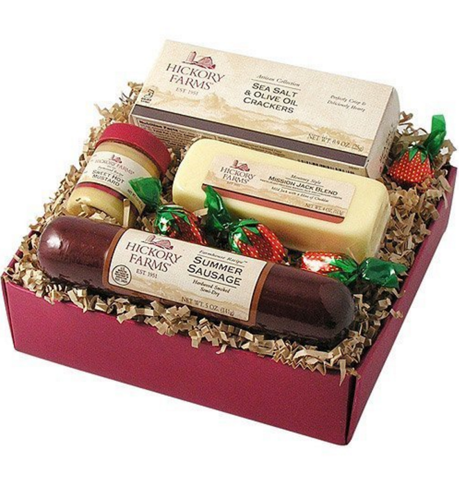 Hickory Farms 4-Piece Farmhouse Sampler Gift Pack