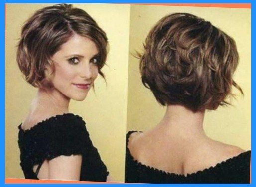 Short Haircuts For Thick Coarse Hair Intended For Motivate Haircuts For Wavy Hair Chin Length Hair Thick Hair Styles