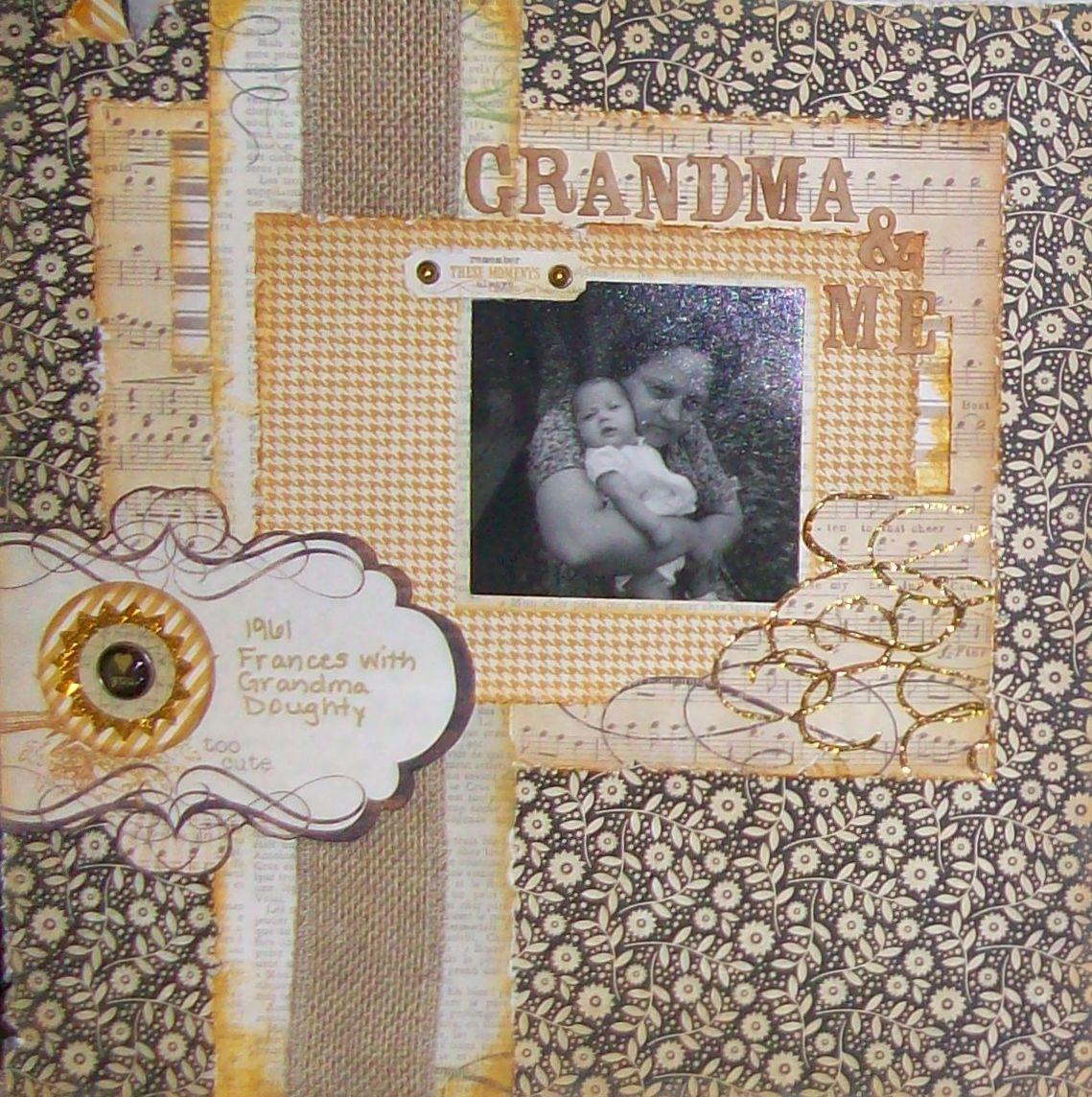 Scrapbook ideas grandma - Grandma Me Scrapbook Com