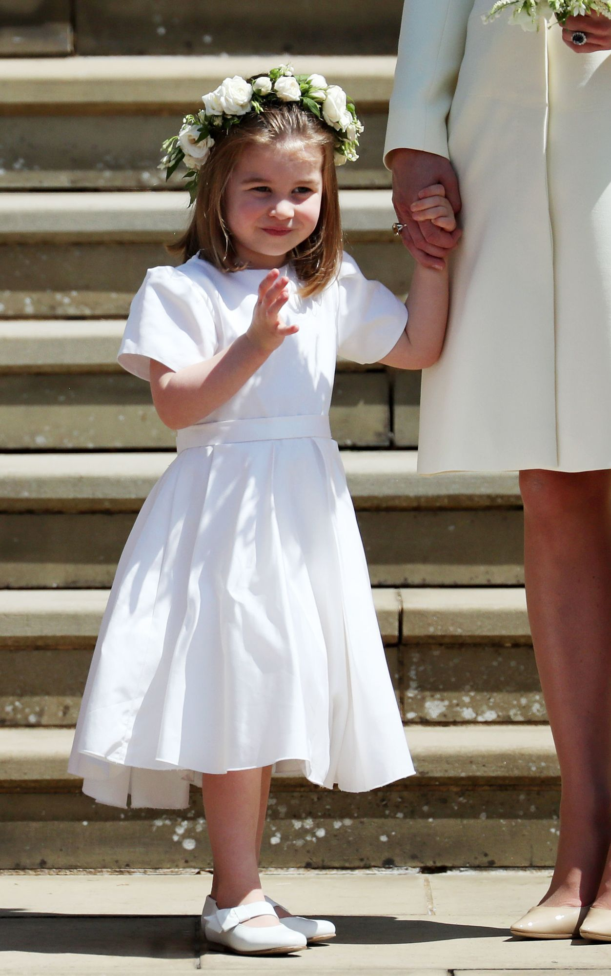 98fa845ad30 Every Adorable Photo of Prince George and Princess Charlotte at the Royal  Wedding