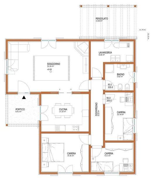 Case Moderne Idee Ispirazioni Progetti: Wolf Haus - Case Prefabbricate: Sophia 133