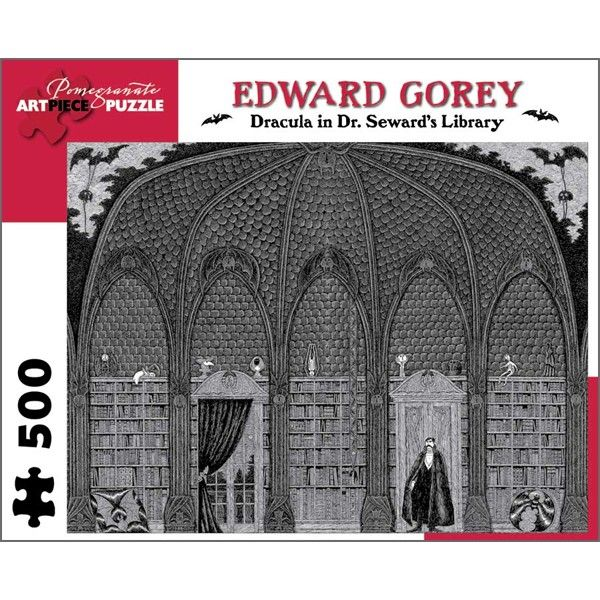 Dracula in Dr. Seward's Library Puzzle #scentsyfridaythe13th