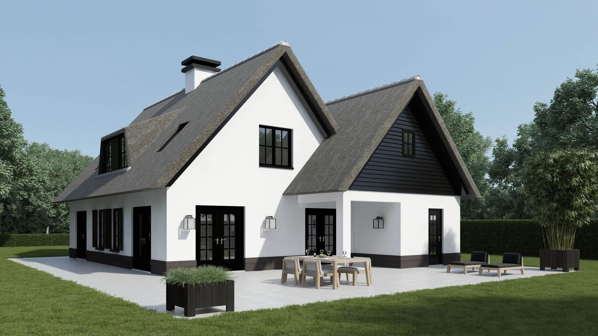Huizen ontwerp bertram beerbaum kabaz landelijke huizen pinterest house architecture - Huis modern kubus ...