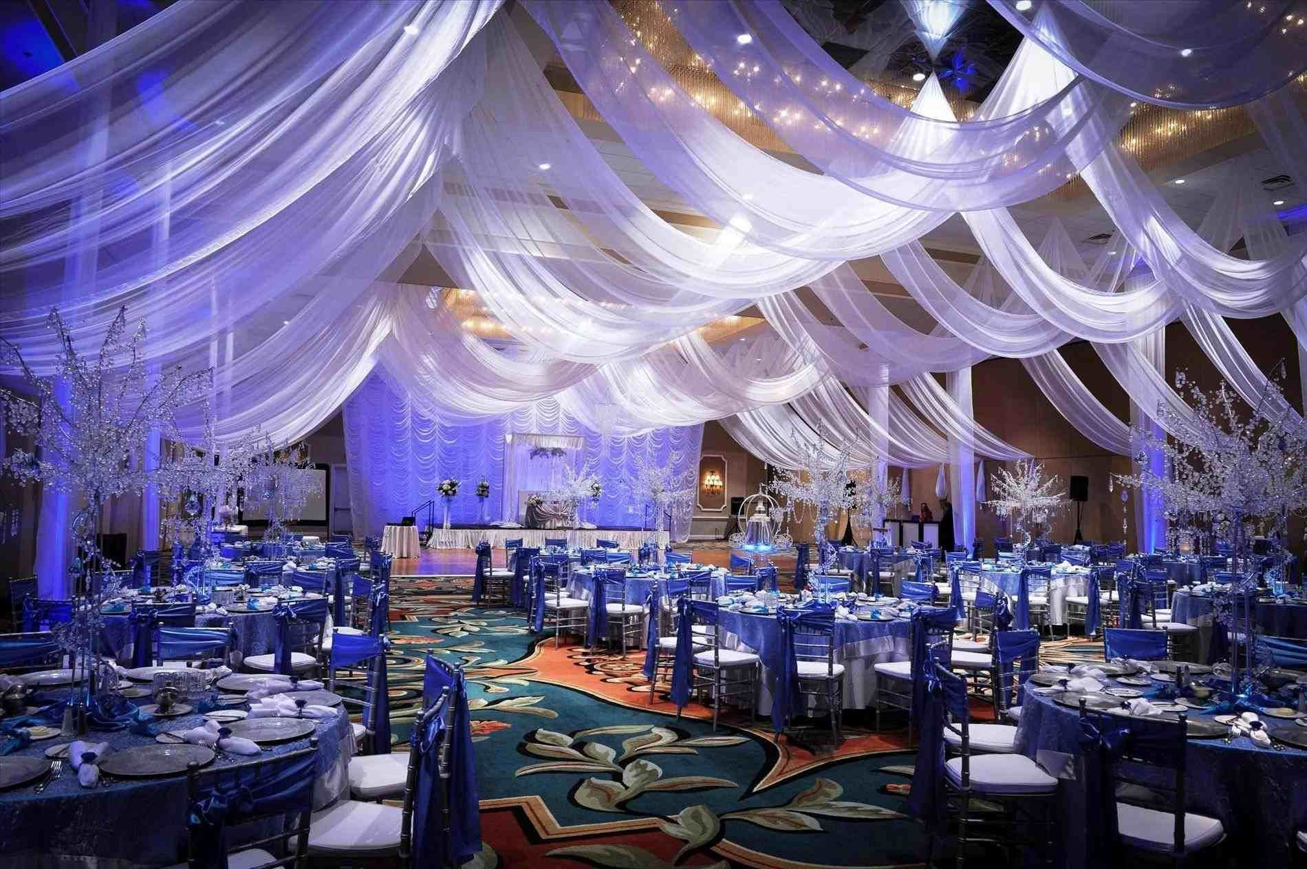 Of A Gallery Blue And Purple Wedding Decorations Stylish Events Mk