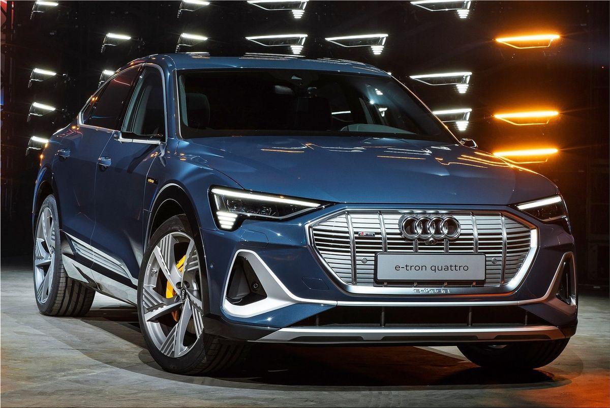 Audi e-tron Sportback starting at 75 thousand euros
