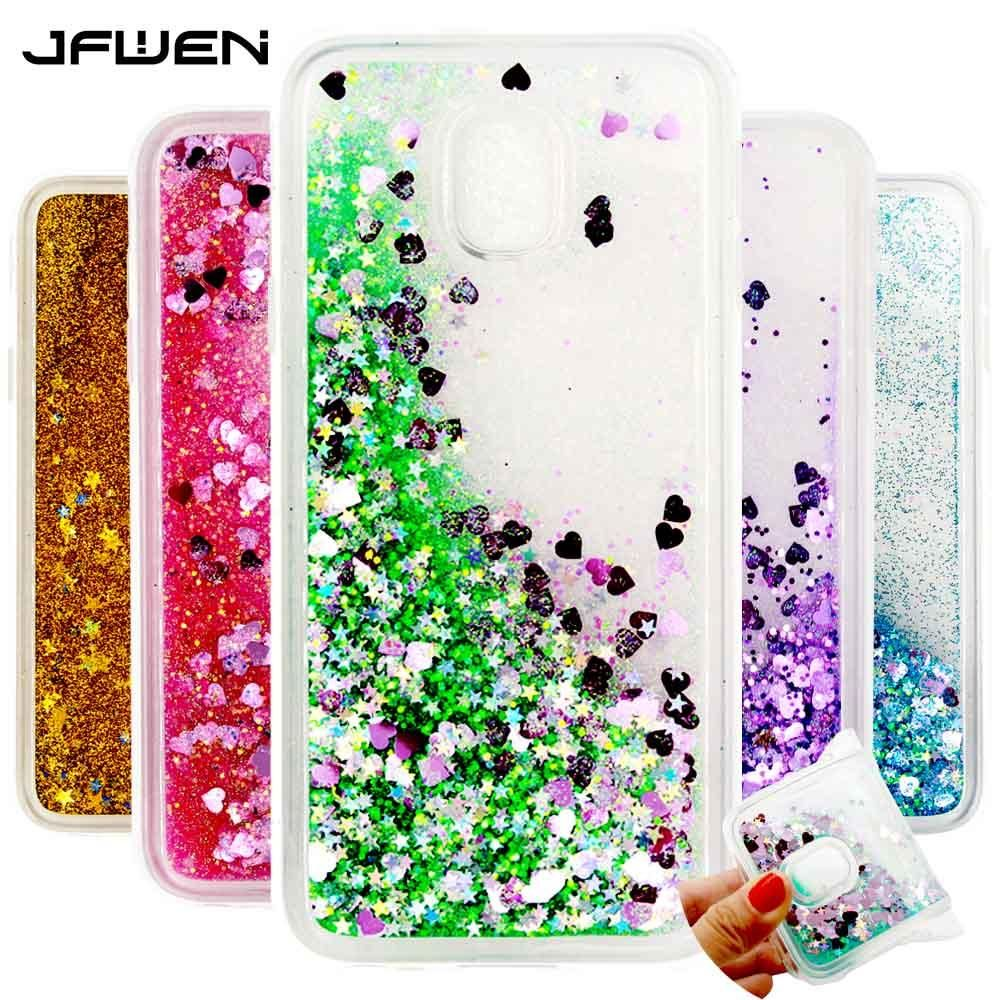 For Samsung Galaxy J3 2017 Phone Case Cover Silicone Soft Tpu Clear Transparent Liquid For Coque Samsung J3 2017 J330 Case Back In 2021 Phone Cases Samsung Galexy Case