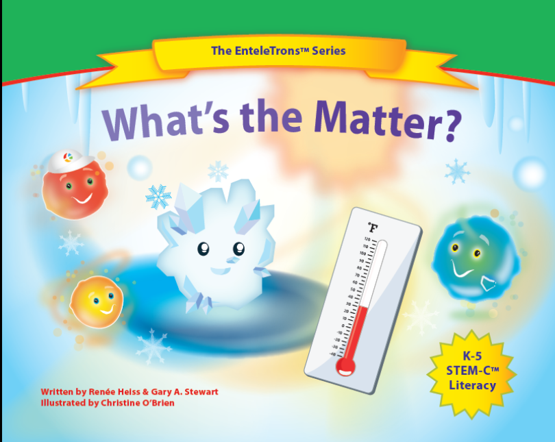 Our book teaches young readers about the states of matter and acceptance of change in your life.