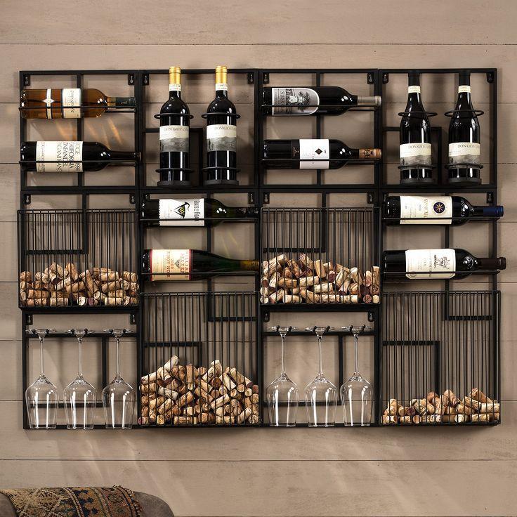 Modular Cork Catcher System | Wine storage wall, Wine rack