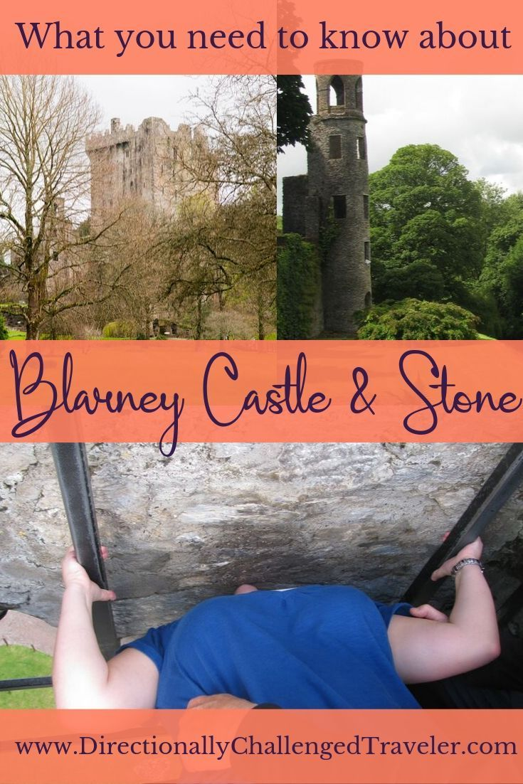 Want the gift of gab?  Here's what you need to know about visiting the castle and kissing the Blarney Stone!   #ireland #irelandtravel #Blarneystone #blarneycastle #bucketlist