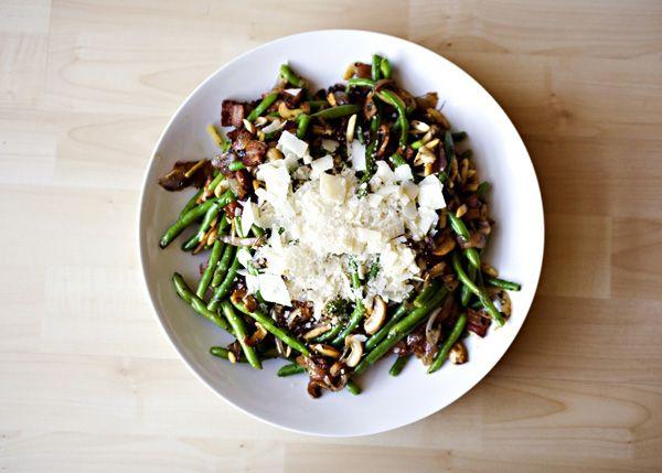 Green Beans Almondine Recipe Green Beans Green Beans Almondine Food Recipes