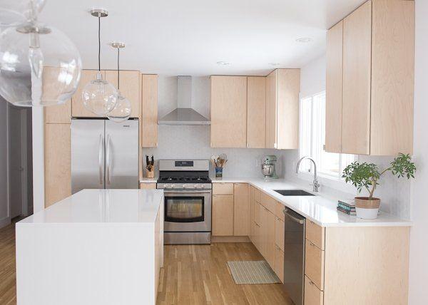 Before After Karin S Updated Scandinavian Style Kitchen The Big Reveal Kitchen Renovation Natural Wood Kitchen Cabinets Kitchen Design