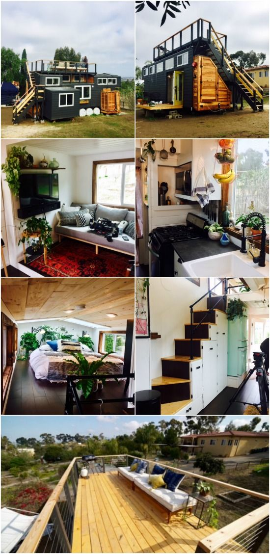 California couple design and build their own tiny house and now save 60