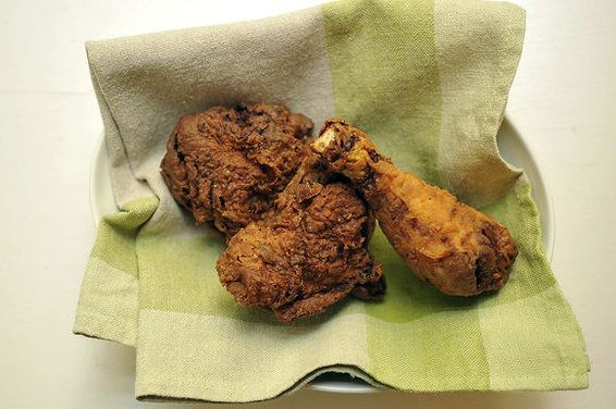 Classic Southern Buttermilk Bathed Fried Chicken