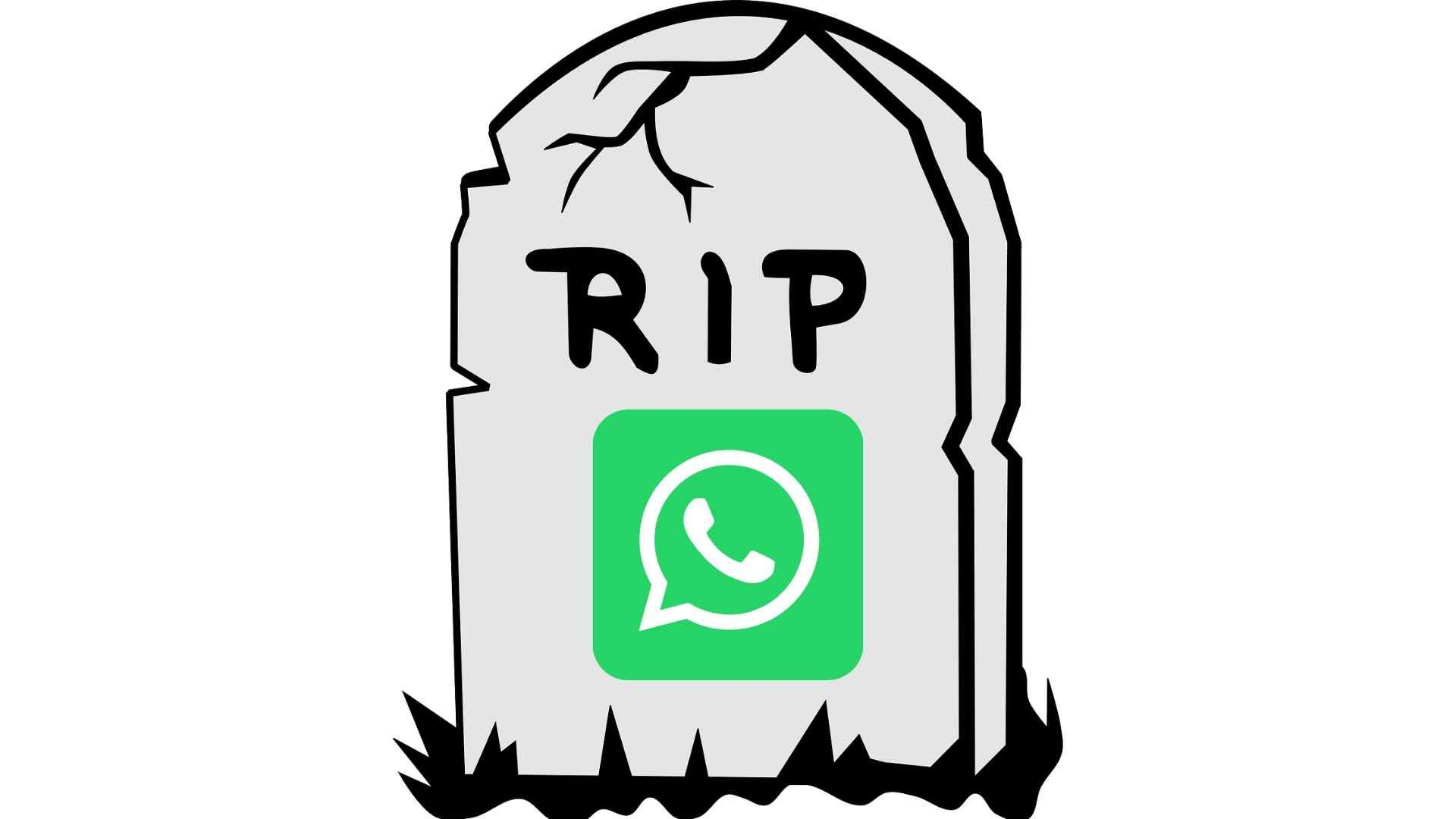 WhatsApp won't work after December 31 on older phones