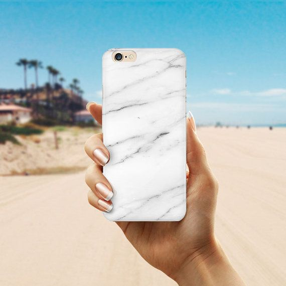 White Marble iPhone 6S Case  iPhone SE Case Marble by Create5Store