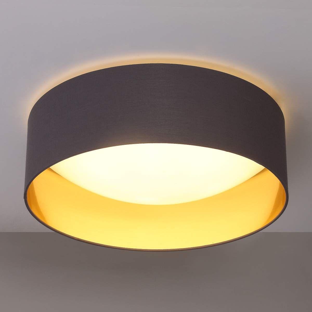 Buromobel Led Deckenlampe Coleen Lampenwelt Innen Gold Schlafzimmer Led Deckenleuchte Buro Schreibwaren Djmall Co Il