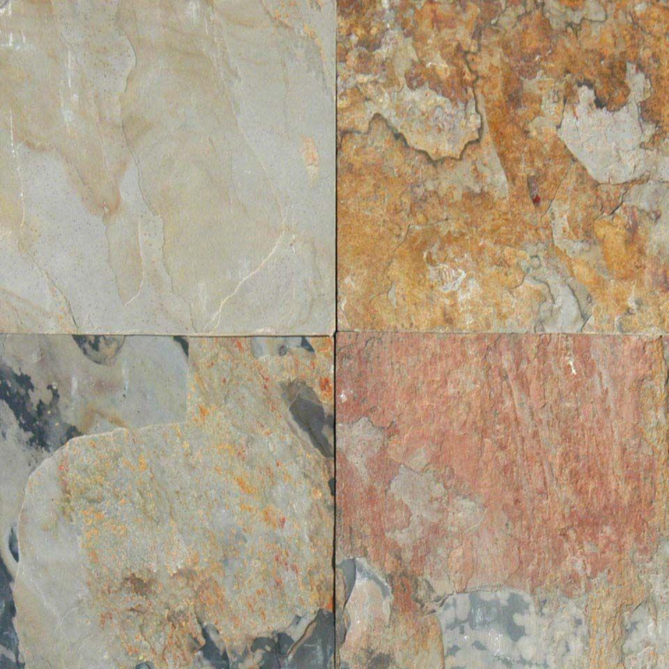 Autumn Slate Tile, Slabs & Mosaics Slate flooring, Slate