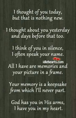 10 In Memory Quotes And Sayings Thinking Of You Today Words Quotes To Live By