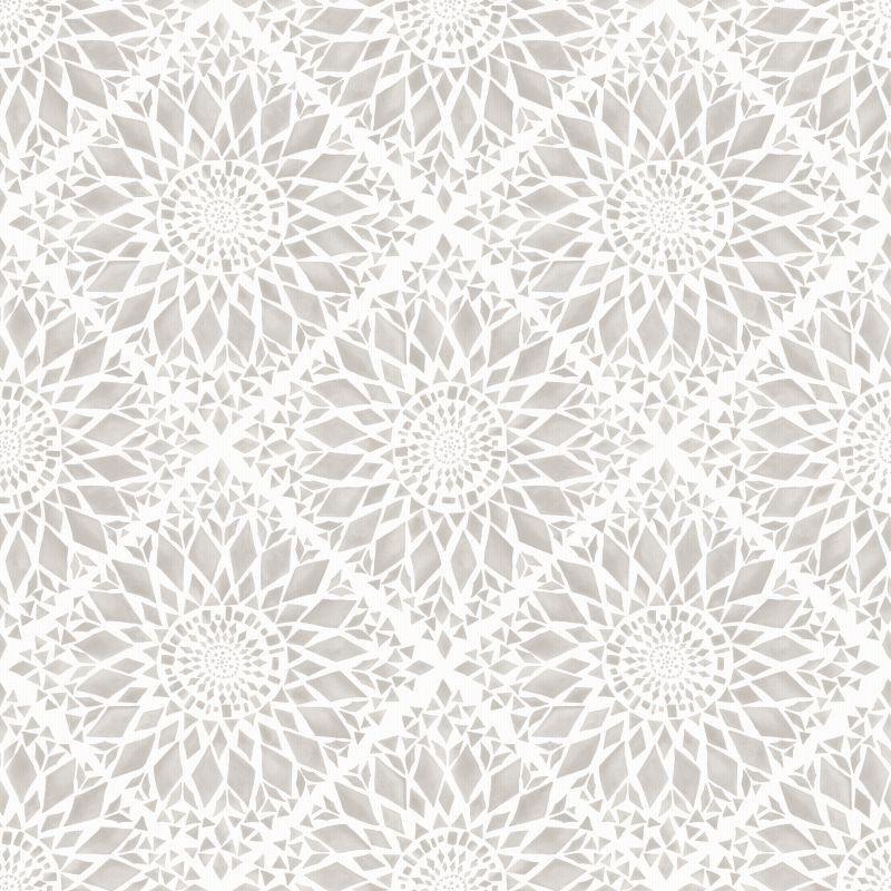 Tapete Vlies Ethnodesign Mosaik Rasch Textil taupe 148609 Küche - fliesen tapete küche