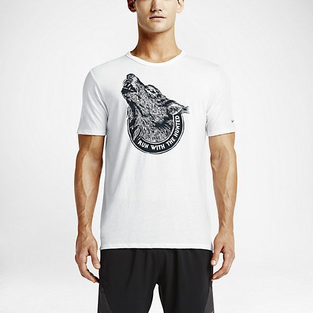 cheap for discount b0f3d fbcf4 Nike Run Dri-Blend Wolf
