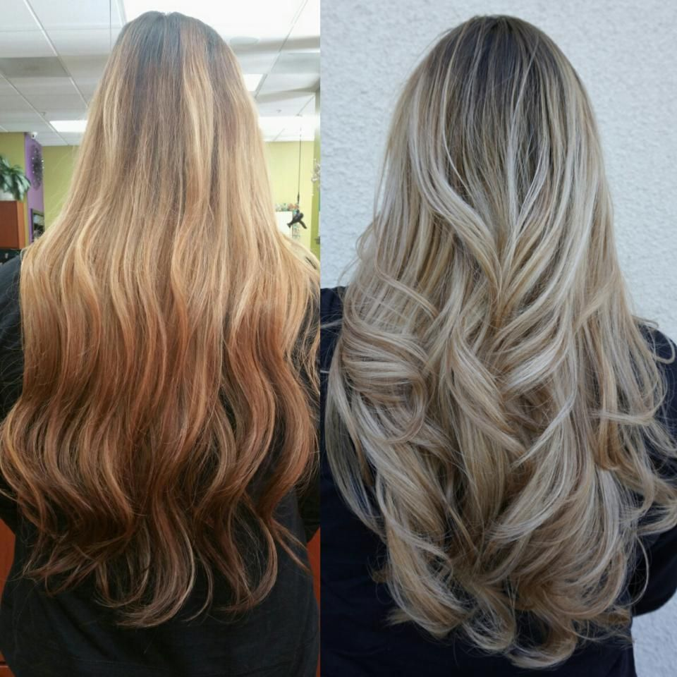 Light Ash Brown Hair Color Before And After