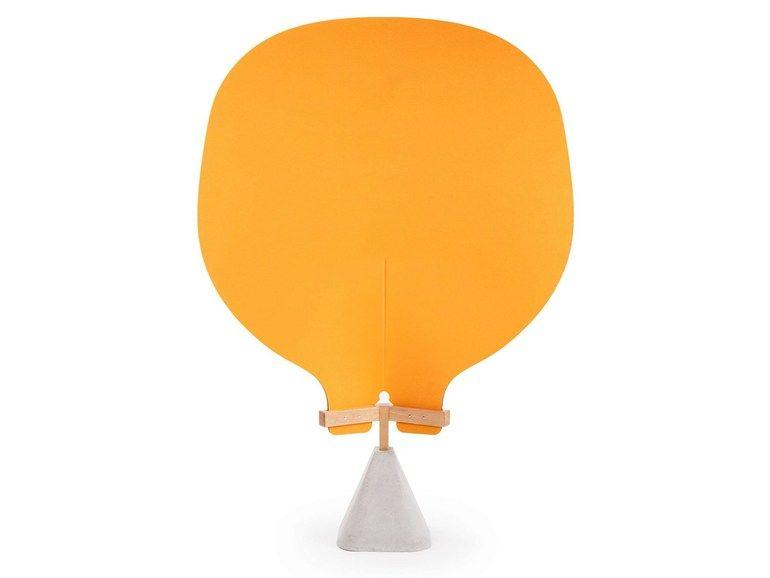 Pannello divisorio mobile free standing in feltro SHIELD By True Design design Luciano Dell'Orefice