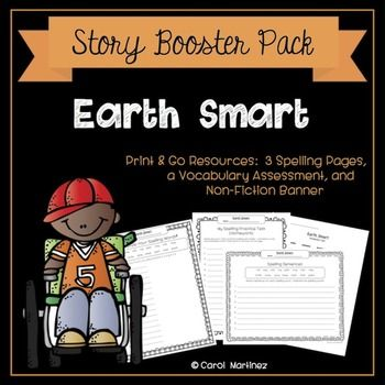 Earth Smart {Story Booster Pack} Curriculum, Activities and Students