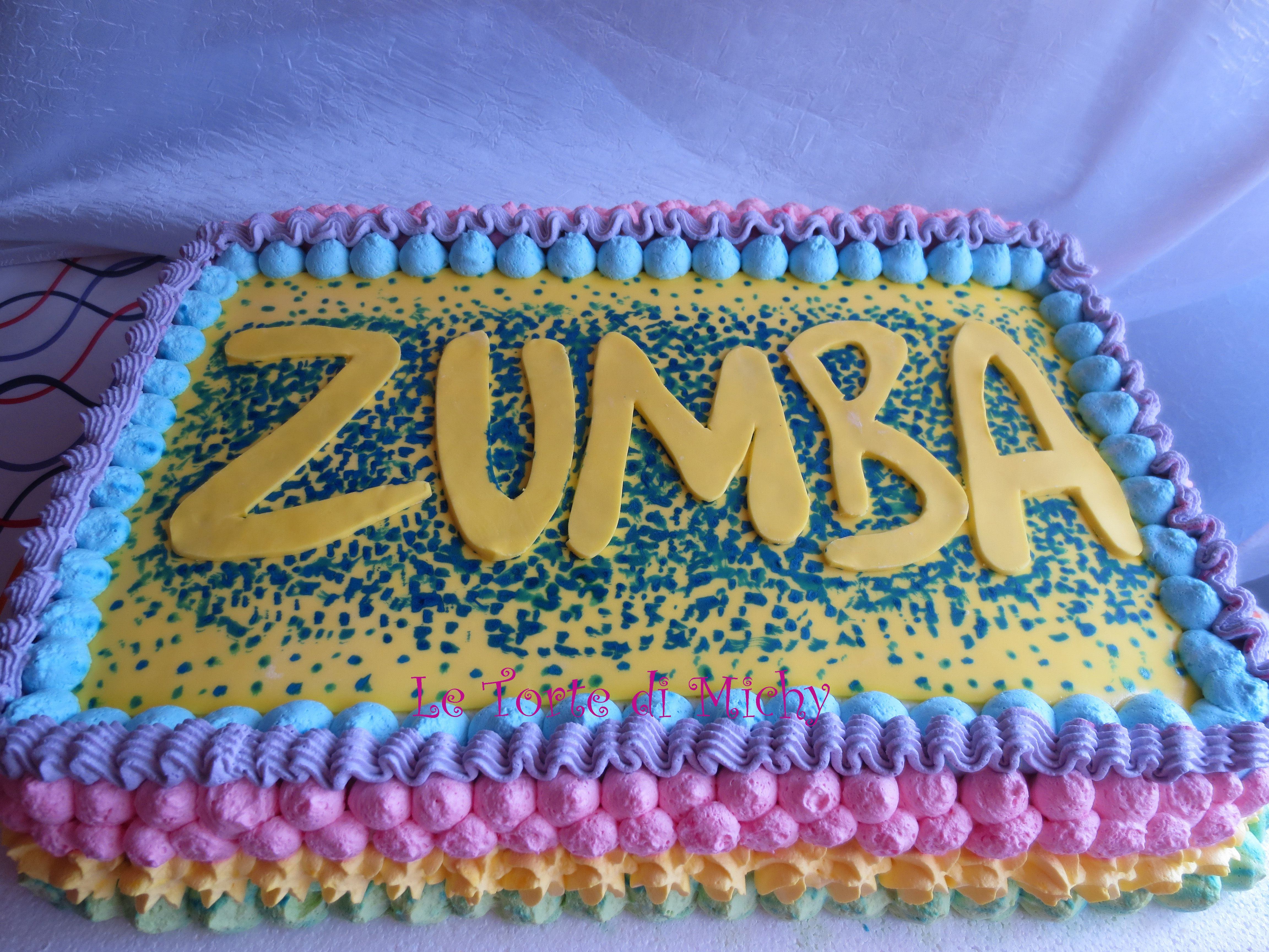 Auguri Di Natale Zumba.Zumba Cake Le Torte Di Michy Cake Design