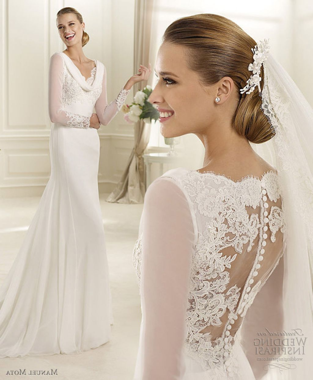 Bella Twilight Wedding Dress Inspired Manuel Mota 2013 | dream ...