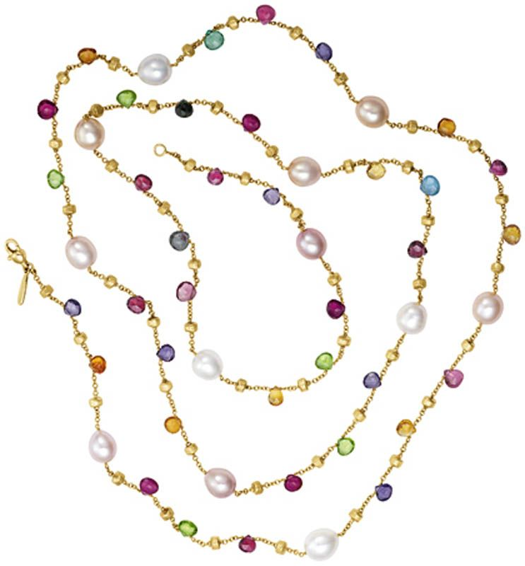 Marco Bicego Paradise collection | necklaces | Pinterest | Collares ...