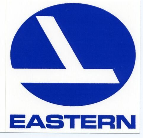 Eastern Airlines Eal Logo Sticker Airline Logo Vintage Airlines Airlines