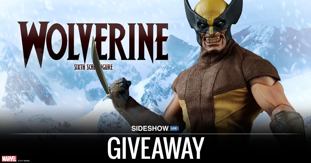Sideshow - Win a Wolverine Sixth Scale Figure - http://sweepstakesden.com/sideshow-win-a-wolverine-sixth-scale-figure/