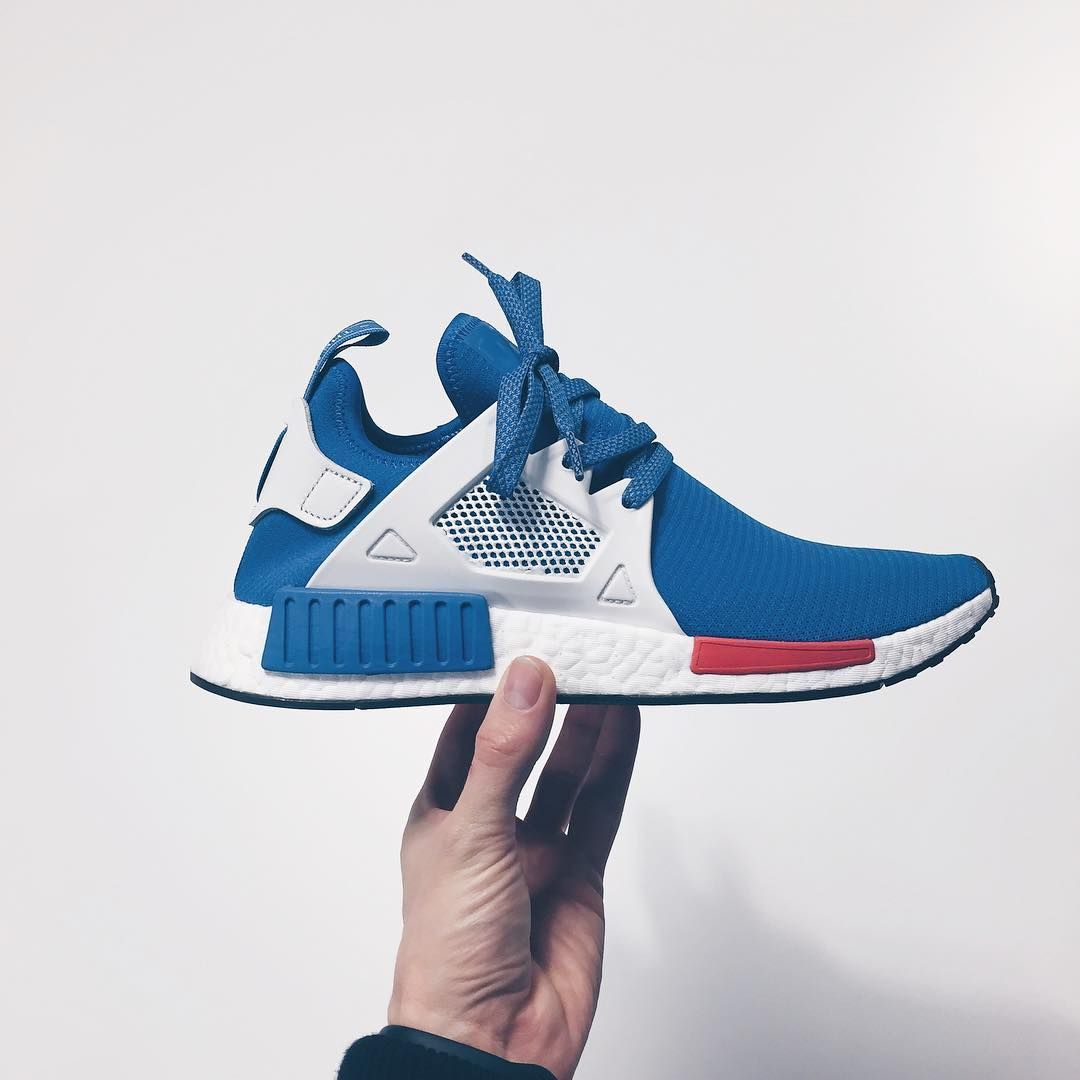 Adidas NMD XR1 Utility Black Bright Blue S32215 (#1141759) from