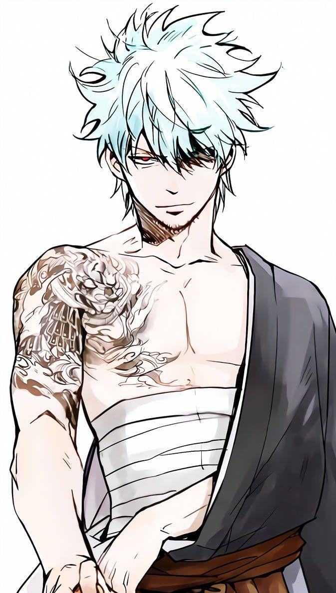 Gintoki Sakata Gintama by AsrielXIV Anime king, Sakata