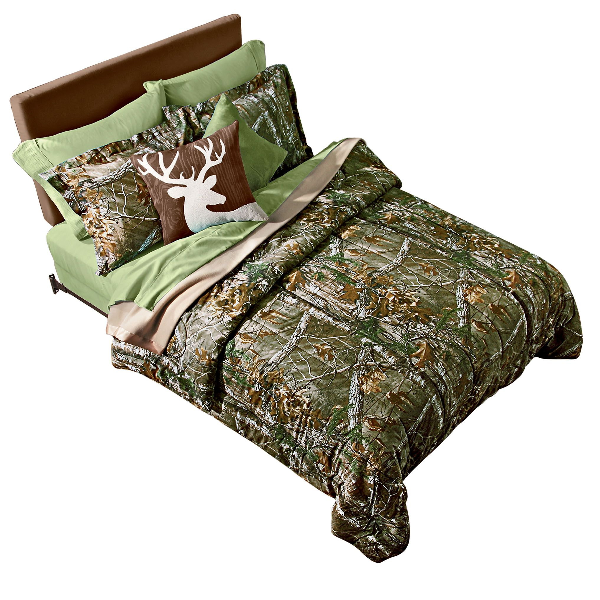 Sawing Logs In Realtree Bedding #shopko Country Decor