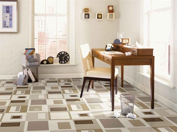 Fun Modern Vinyl Flooring Designs