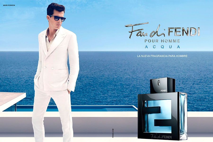 Mark Ronson for Fan di Fendi Acqua fragrance