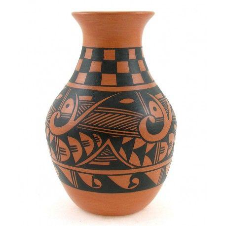 Native American Hopi Vase By Alta Yesslith Native Art Gallery