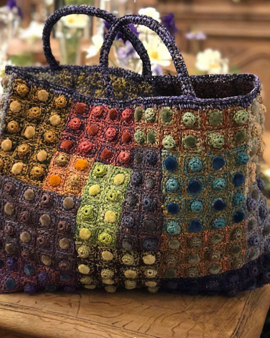 Napraforgós táska | Táska, Horgolt táskák, Horgolás